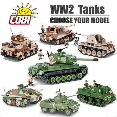 Cobi-Blocks-WW2-tank-models-lego-bricks